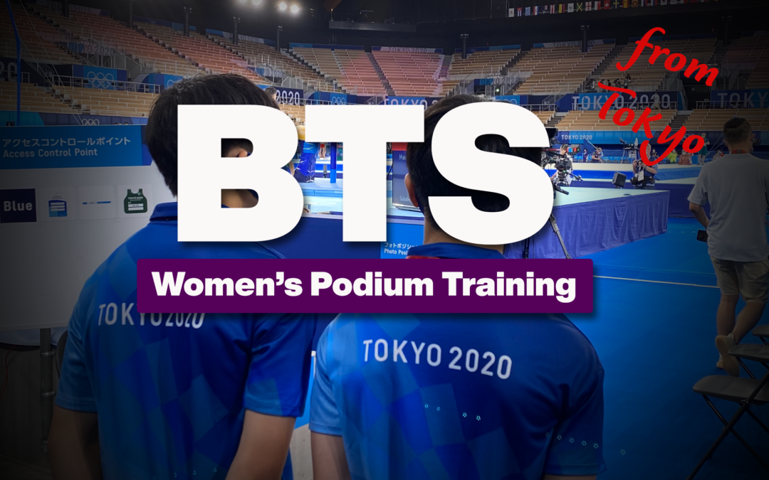 Tokyo Olympics: WAG Podium Training