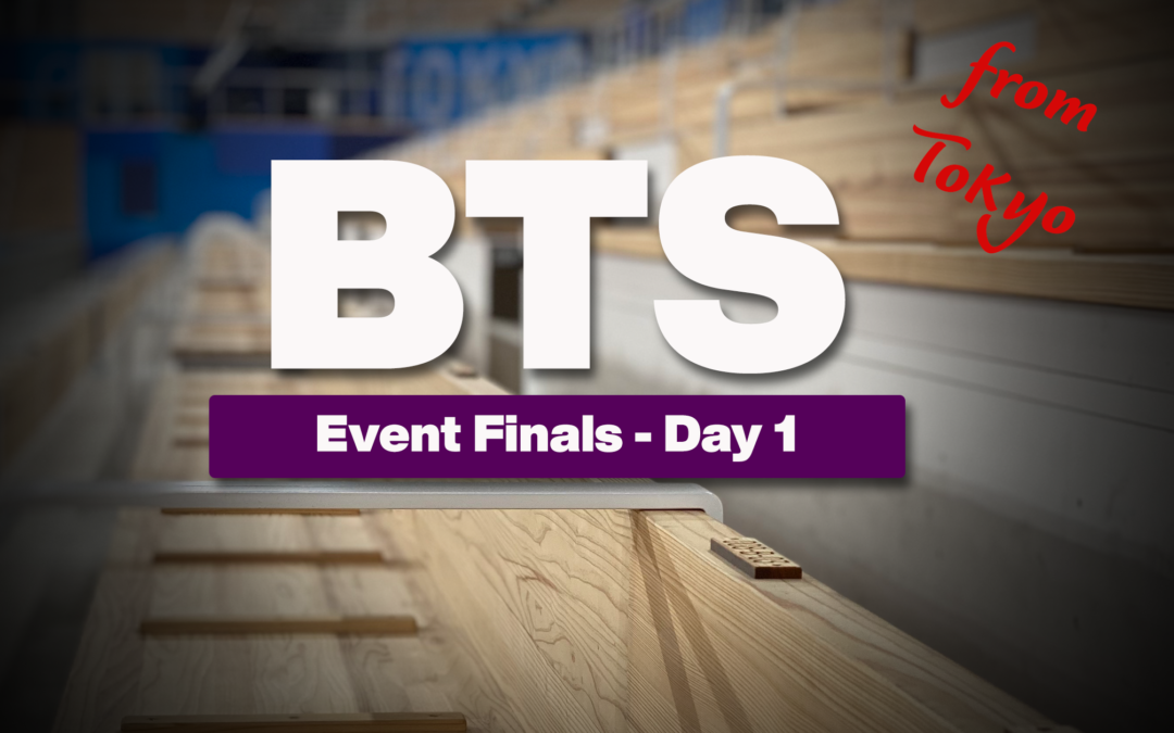 Tokyo Olympics: Event Finals Day One: MAG FX and PH WAG VT and UB