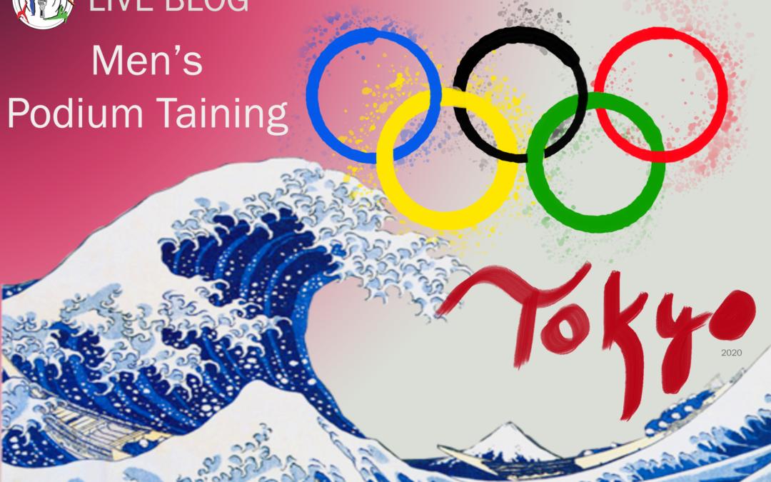 Live Blog: Tokyo 2020 MAG Podium Training