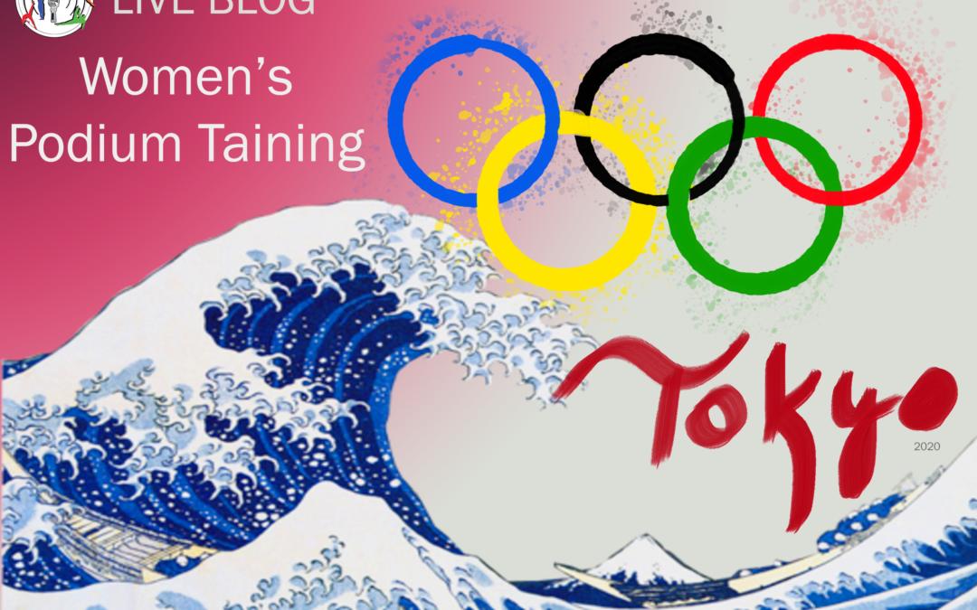 Live Blog: 2020 Tokyo Olympics, Women's Podium Training