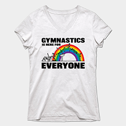 Gymnastics is for Everyone t-shirt