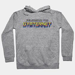 Welcome to the Gymternet sweatshirt