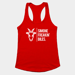 Simone Freakin' Biles tanktop
