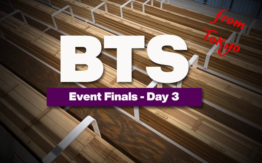 Tokyo Olympics, Event Finals Day Three: Beam, High Bar and P-Bars