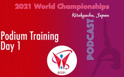 2021 Worlds Championships in Kitakyushu – Podium Training, Day 1