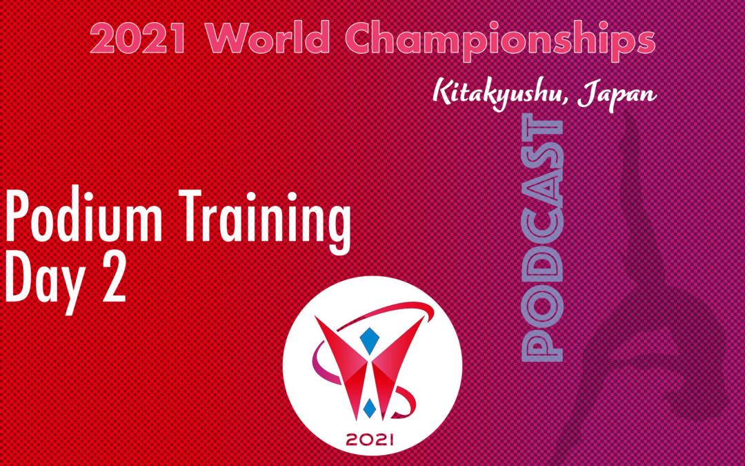2021 Worlds Championships in Kitakyushu – Podium Training, Day 2