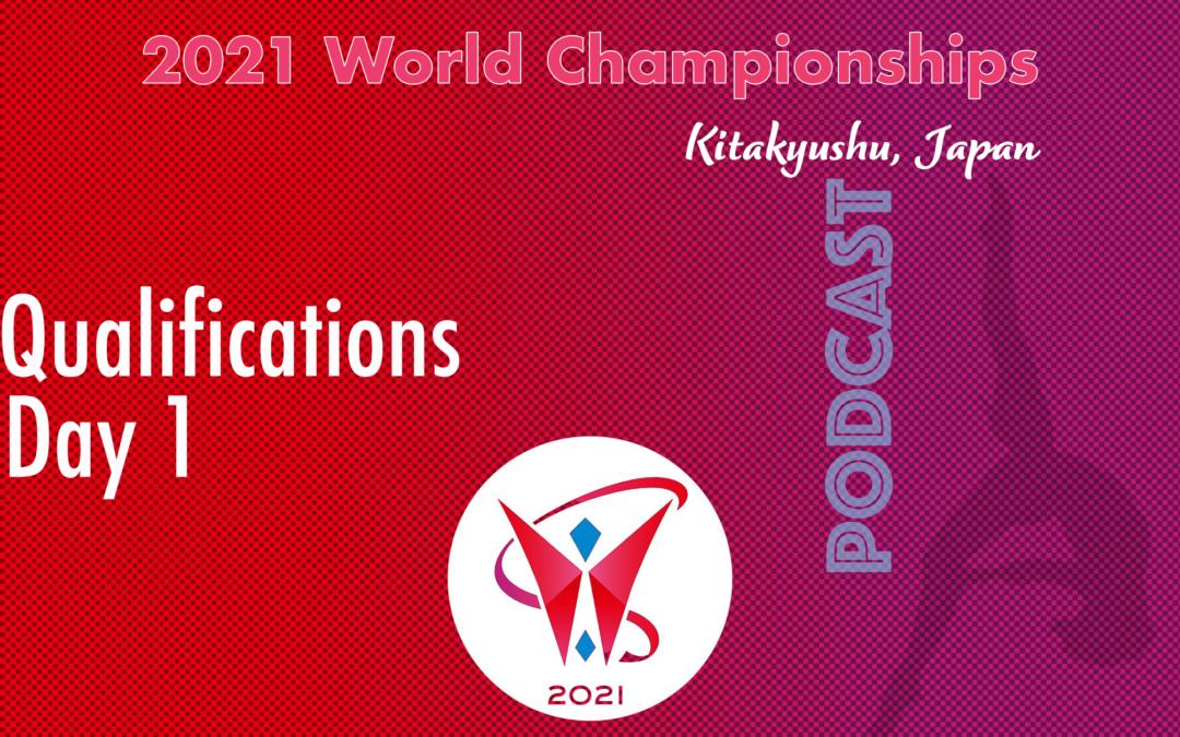 2021 World Championships,  Women's Qualification – Day 1