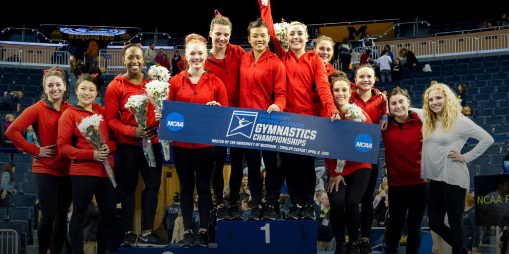 Miracle in Michigan. Number 18 Stanford qualifies to NCAA Championships. Courtesy StanfordPhoto.com